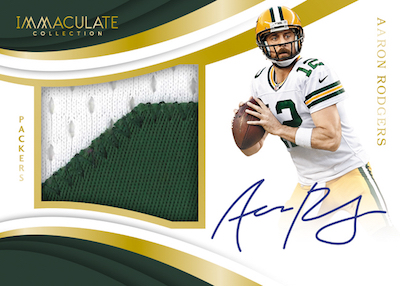 Premium Patch Auto Aaron Rodgers