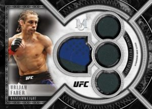 Primary Pieces Single Quad Relic Urijah Faber