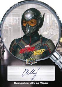 Quantum Stars Auto Portrait Evangeline Lilly as Wasp