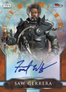 Rogue One A Star Wars Story Auto Forrest Whittaker