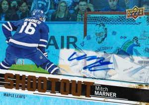 Shootout Gold Rainbow Auto Mitch Marner