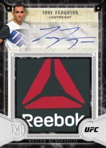 Signature Reebok Logo Autographs Tony Ferguson