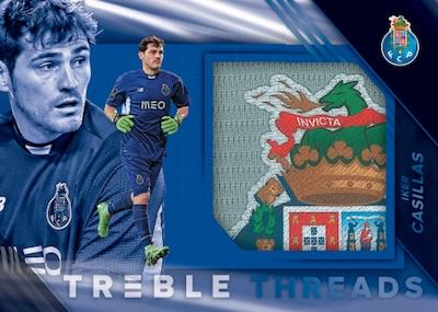 Treble Threads Patch Iker Casillas