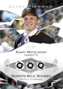 Triple Diamond Relic Rookies Casey Mitteldtadt