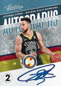 10th Anniversary Auto Level 2 Stephen Curry
