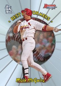 1998 Best Performers Mark McGwire