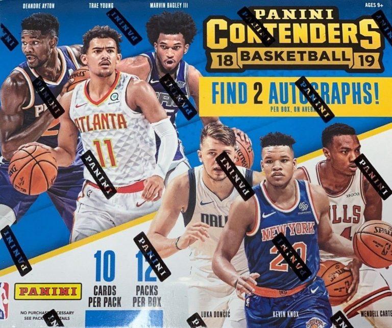 2018//19 Panini Contenders Basketball Factory Sealed Hobby Box