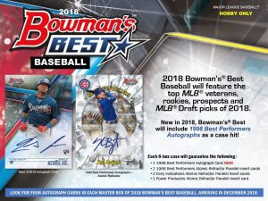 2018 Bowman's Best Baseball