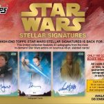 2018 Topps Star Wars Stellar Signatures
