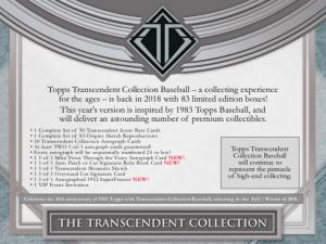 2018 Topps Transcendent