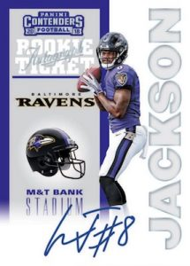 20th Anniversary Rookie Tickets RPS Auto Lamar Jackson