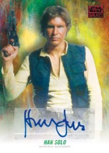 Autographs Harrison Ford as Han Solo