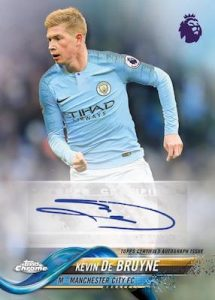 Base Chrome Autographs Kevin De Bruyne