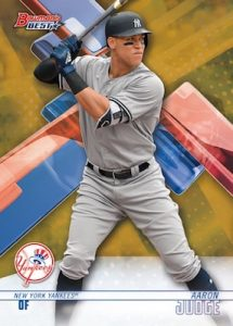 Base Gold Refracto Aaron Judge