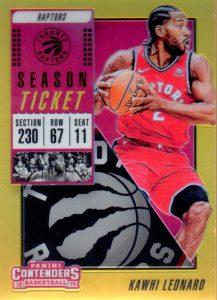2700339069b4 2018-19 Panini Contenders Basketball – Base Season Tickets Set