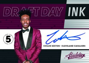 Draft Day Ink level 5 Collin Sexton