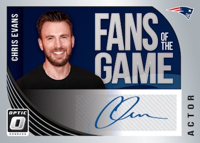Fans of the Game Auto Chris Evans