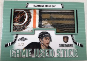 Game-Used Stick Raymond Bourque