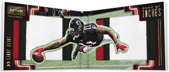 Game of Inches Booklet Julio Jones