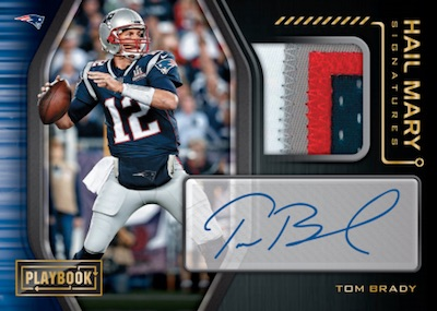 Hail Mary Signature Relics Tom Brady