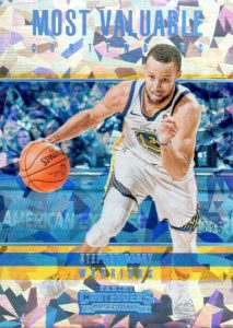 Most Valuable Contenders Cracked Ice Stephen Curry