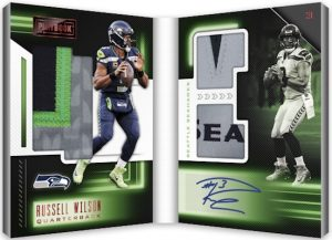 Playbook Material Auto Booklet Gold Russell Wilson