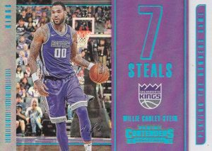 Playing the Numbers Game Championship Willie Cauley-Stein