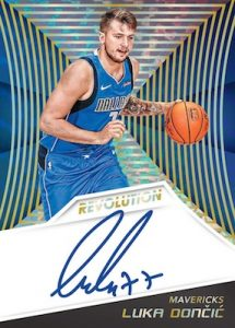Rookie Auto Kaleido Luka Doncic