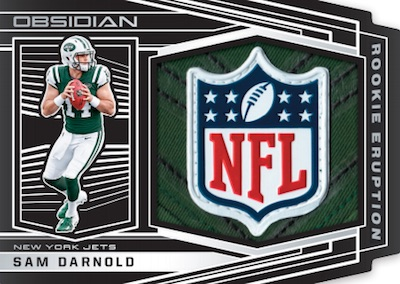 Rookie Eruptions NFL Shield Sam Darnold