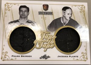 Tape to Tape Frank Brimsek, Jacques Plante