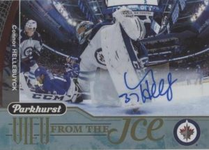 View From the Ice Auto Connor Hellebuyck