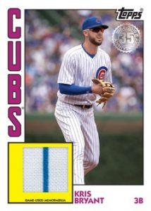 1984 Topps Baseball Relics Kris Bryant