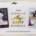 2018 Leaf Ultimate Draft Baseball