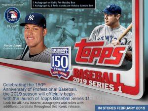 2019 Topps Series 1 Baseball