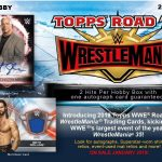 2019 Topps WWE Road to Wrestlemania