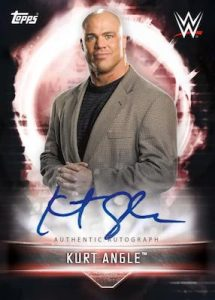Autographs Kurt Angle