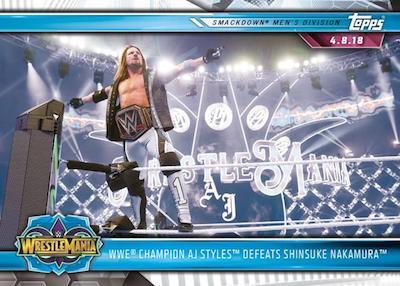 Base AJ Styles Defeates Shinsuke Nakamura
