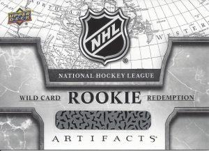 Base Rookie Redemption Wild Card