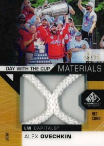 Day With The Cup Materials Net Cord Alex Ovechkin