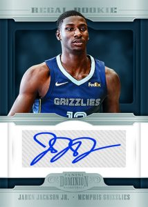 Regal Rookie Signatures Jaren Jackson Jr