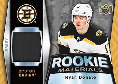 Rookie Materials Ryan Donato