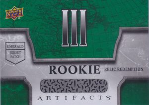 Rookie Redemption Relic