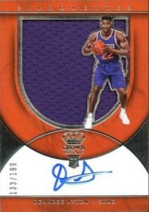 Rookie Silhouettes Auto Jersey RPA DeAndre Ayton
