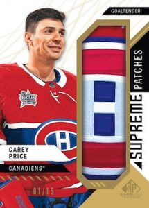 Supreme Patches Carey Price