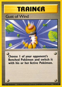 Trainer Gust of Wind Common