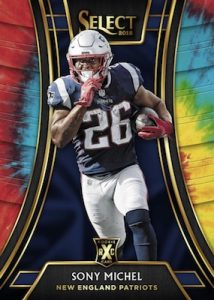 2019 XRC Prizm Redemption Sony Michel MOCK-UP