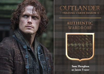 Authentic Wardrobe Relics Sam Heughan