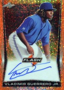 Base Auto Orange Vladimir Guerrero Jr