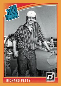 Base Retro Rated Rookie Richard Petty