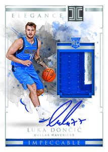 Elegance Rookie Jersey Auto Luka Doncic